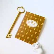 Flowery Note Book